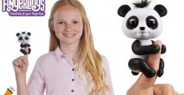 oferta Oso interactivo Baby Panda Fingerlings barato SuperChollos