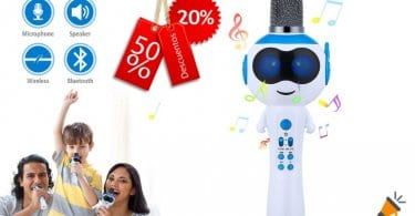 oferta Micro%CC%81fono Karaoke barato SuperChollos