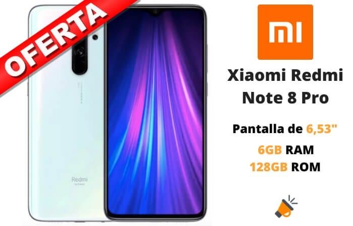 oferta Xiaomi Redmi Note 8 Pro barato SuperChollos