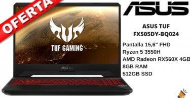 OFERTA ASUS TUF Gaming FX505DY BQ024 Porta%CC%81til BARATO SuperChollos