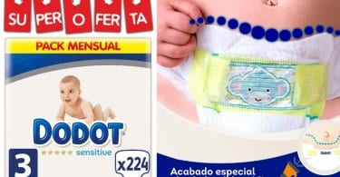 oferta Dodot Sensitive Talla 3 baratos SuperChollos