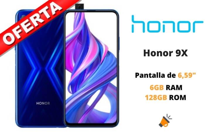 oferta Honor 9X barato SuperChollos