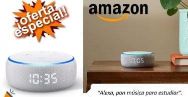 oferta Nuevo Echo Dot 3.%C2%AA generacio%CC%81n barato SuperChollos