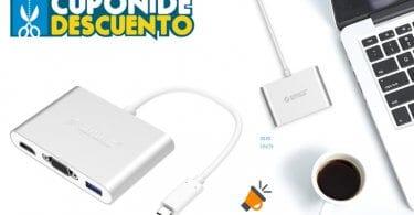 oferta ORICO Hub barato SuperChollos