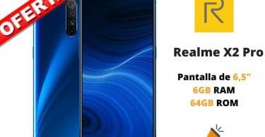 oferta Realme X2 Pro 664GB barato SuperChollos