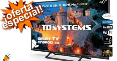 oferta TD Systems K40DLX9FS smart tv barata SuperChollos