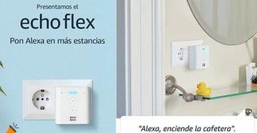 oferta Echo Flex Altavoz inteligente barato SuperChollos