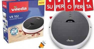 oferta Vileda VR 102 Robot aspirador barato SuperChollos