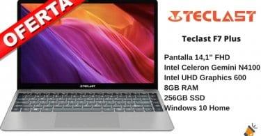 oferta Teclast F7 Plus portatil barato SuperChollos
