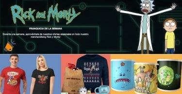 merchandising RICK Y MORTY BARATO SuperChollos