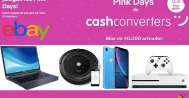 Pink Days de Cash Converters SuperChollos