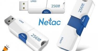 OFERTA Memoria USB Netac 256GB BARATO SuperChollos