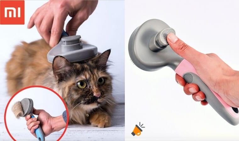 OFERTA Cepillo Xiaomi Youpin para mascotas barato SuperChollos