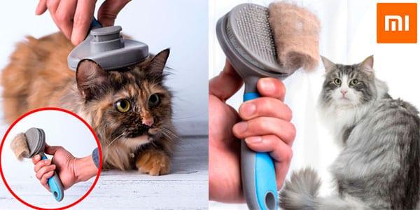 Cepillo para mascotas Xiaomi Youpin barato SuperChollos