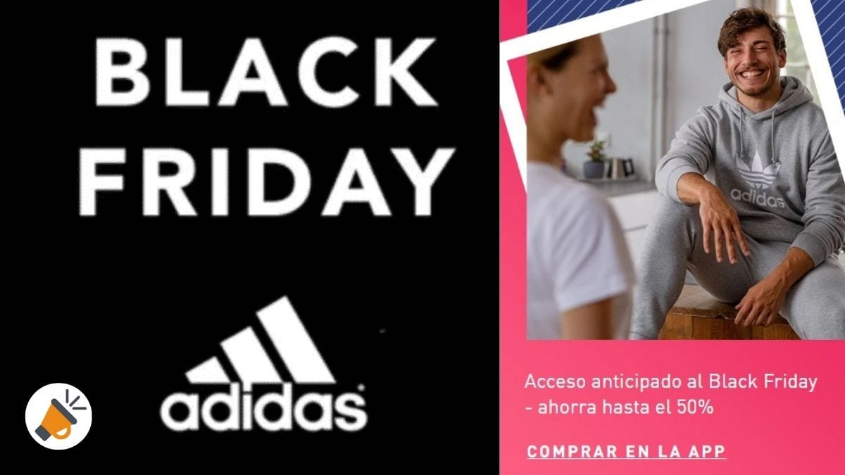 black friday adidas SuperChollos