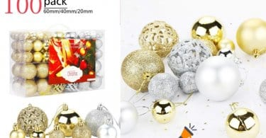 oferta Aitsite Bolas de Navidad baratas SuperChollos