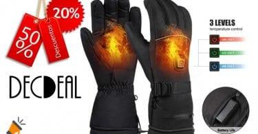 oferta guantes calefactables decdeal baratos SuperChollos