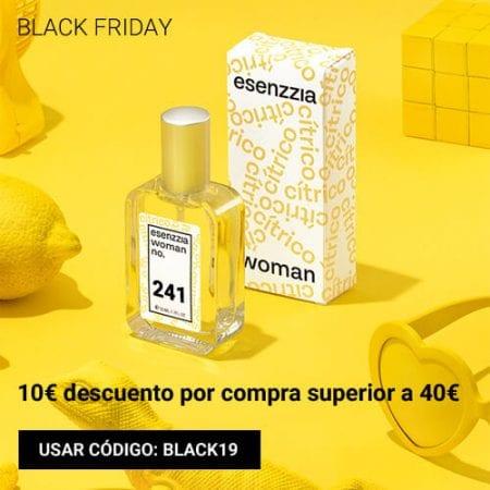 essenzia perfumes black friday cupon descuento black19 SuperChollos