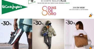 ofertas 8 di%CC%81as oro corte ingles SuperChollos