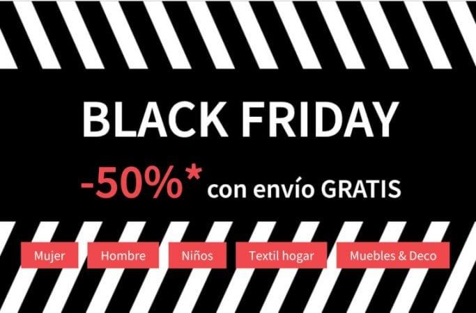 black friday la redoute ofertas descuentos ropa SuperChollos
