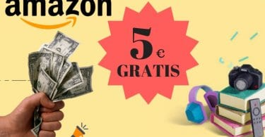 amazon 5 euros gratis SuperChollos