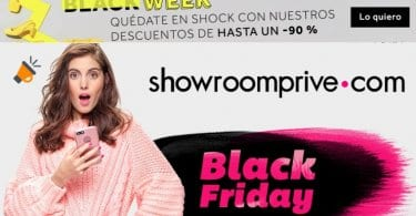 black friday showroomprive SuperChollos
