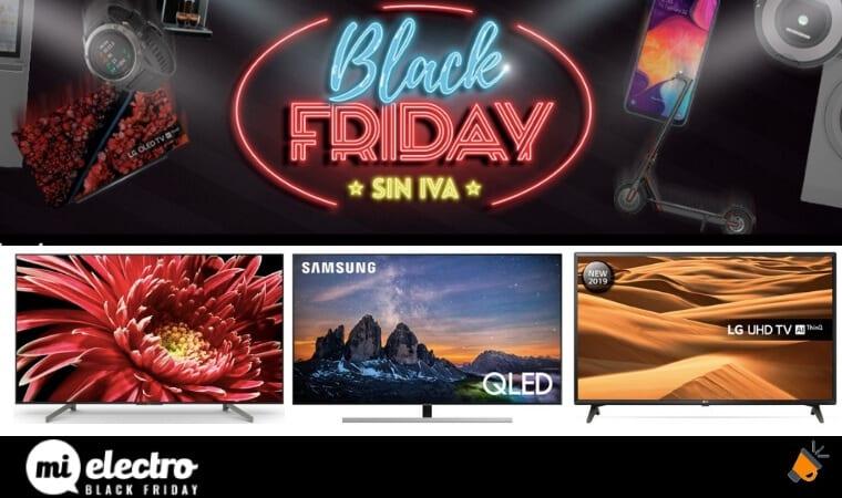 ofertas televisiones black friday mielectro SuperChollos