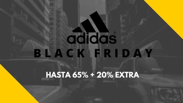 adidas black friday 2019 ofertas descuentos cupon extra superchollos SuperChollos