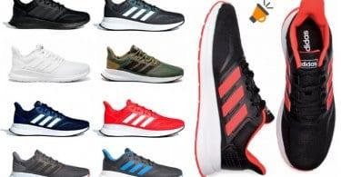 oferta Zapatillas de running adidas Runfalcon baratas SuperChollos