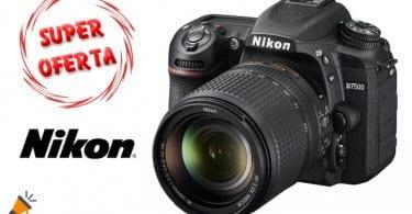 OFERTA Nikon D7500 DSLR CAMARA BARATA SuperChollos