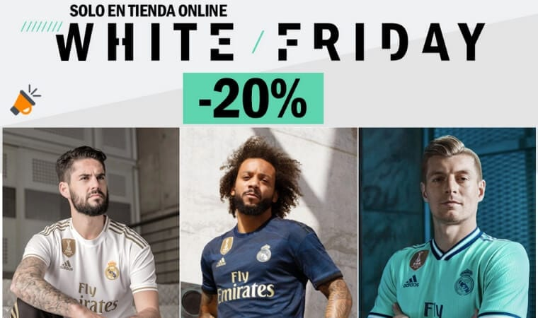 white friday real madrid SuperChollos