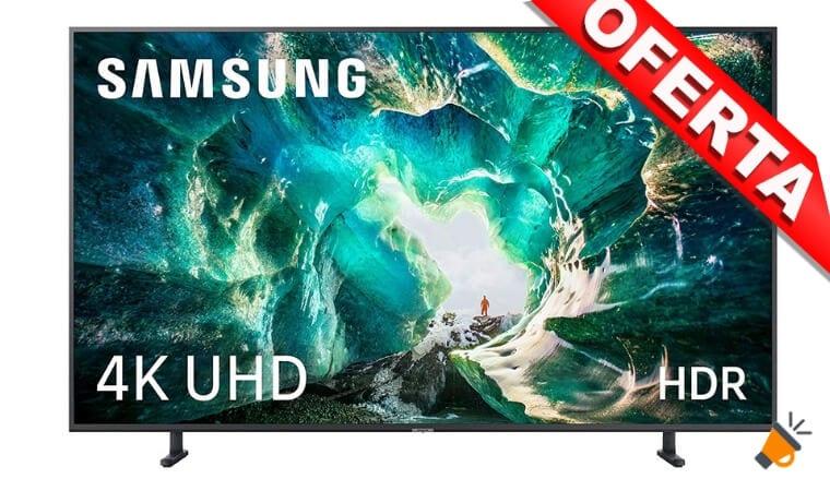 oferta Samsung 4K UHD 2019 55RU8005 Smart TV barata SuperChollos