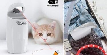 oferta Juguete La%CC%81ser para mascotas DADYPET barato SuperChollos