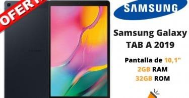 oferta Samsung Galaxy TAB A 2019 barata SuperChollos
