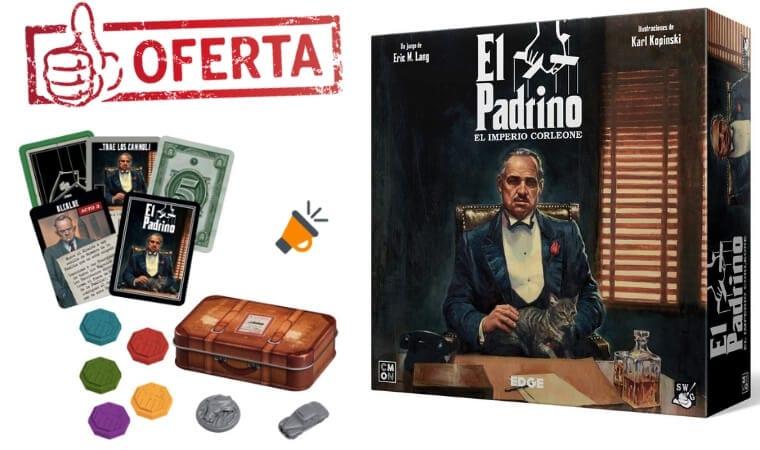 oferta El Padrino juego de mesa barato SuperChollos