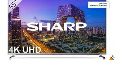 oferta Sharp LC 55UI8762ES Smart TV barata SuperChollos