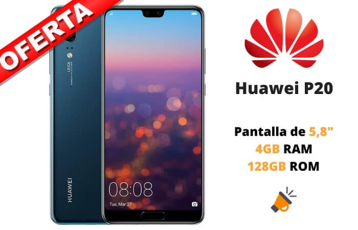 OFERTA Huawei P20 BARATO SuperChollos