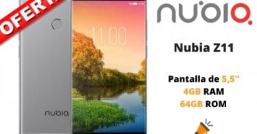oferta Nubia Z11 barato SuperChollos