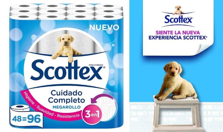 oferta Papel higie%CC%81nico Scottex Megarollo barato SuperChollos