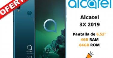 oferta Alcatel 3X 2019 barato SuperChollos