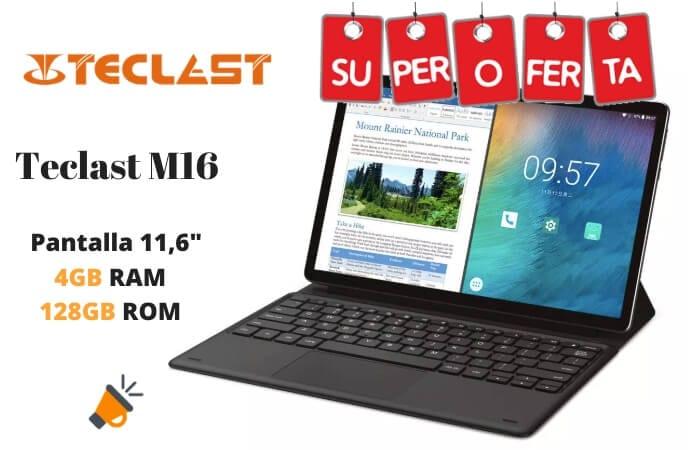 oferta Teclast M16 barata SuperChollos