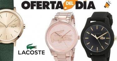 oferta relojes lacoste mujer hombre baratos amazon SuperChollos