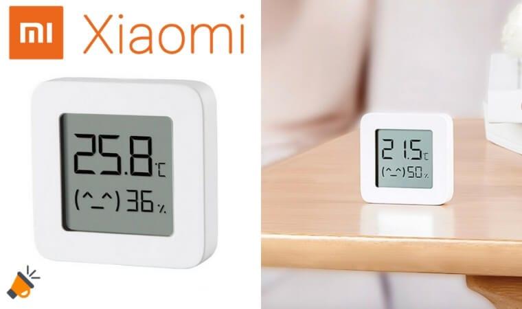 oferta Xiaomi Mijia Termo%CC%81metro barata SuperChollos