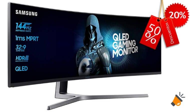 oferta Samsung C49HG90DMU %E2%80%93 Monitor Curvo barato SuperChollos