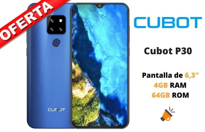 cubot p30 barato SuperChollos