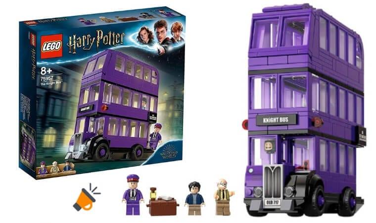 oferta Autobu%CC%81s Nocta%CC%81mbulo de LEGO Harry Potter barato SuperChollos
