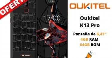oferta Oukitel K13 Pro barata SuperChollos