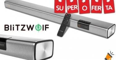 oferta Barra de sonido BlitzWolf BW SDB2 barata SuperChollos