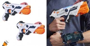 oferta lanzadores Nerf Laser Ops Pro baratos SuperChollos