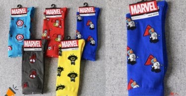 oferta Calcetines de superhe%CC%81roes Marvel baratos SuperChollos